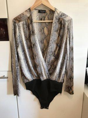Zara Body in Gr.36/S in braun / beige / Schlangenleder Optik .
