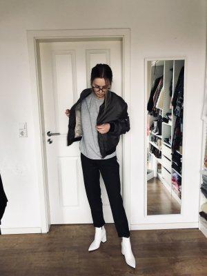 Zara Bomberjacke Jacke Khaki Grün Gold 34 36 S