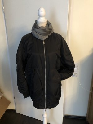 Zara Bomber Jacket black-orange