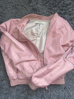 Zara Giacca bomber rosa