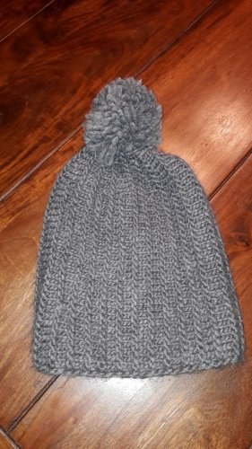 Zara Beanie dark grey cotton