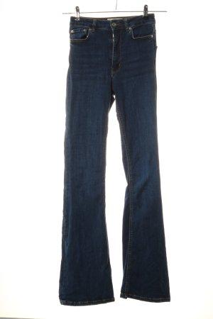 Zara Jeans bootcut bleu style décontracté