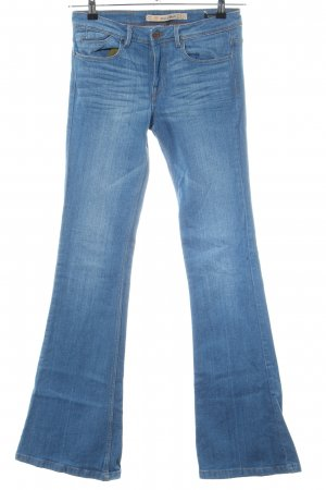 Zara Boot Cut Jeans blau Casual-Look