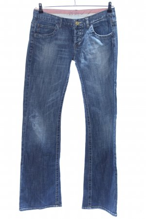 Zara Boot Cut Jeans blau Casual-Look