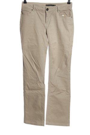 Zara Boot Cut Jeans wollweiß Casual-Look