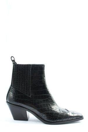 Zara Laarsjes zwart extravagante stijl