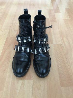 ZARA Boots Gr. 38 schwarz