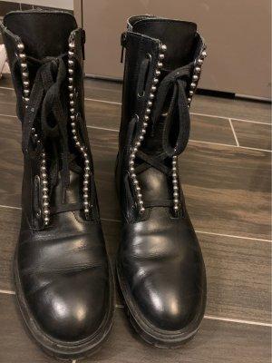 ZARA Boots Gr.39 Echtleder