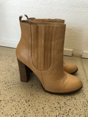 Zara Boots Leder 41 Stiefeletten