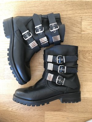 Zara Boots Leder