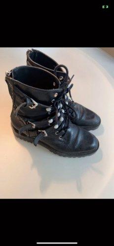 Zara boots mit perlen gr.37