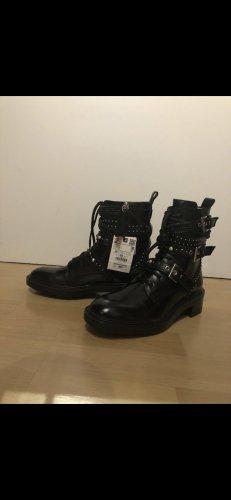 Zara Boots/ schnürboots/ Stiefel