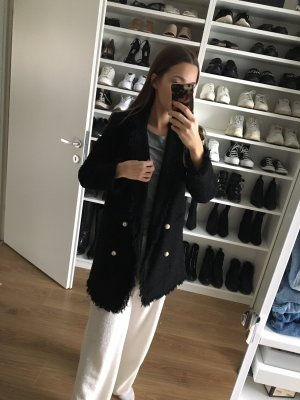 Zara Bouclé Blazer / Mantel S