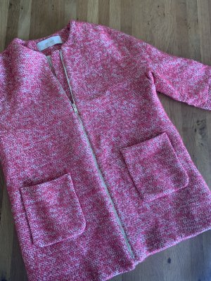Zara Bouclestyle Mantel Gr. XL (38-40)