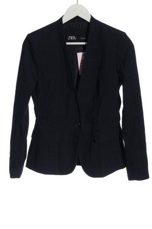 Zara Boyfriend blazer blauw casual uitstraling