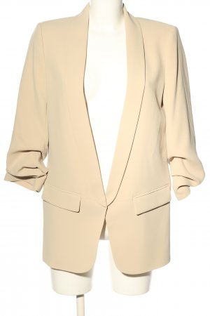 Zara Boyfriend Blazer cream business style