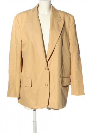Zara Boyfriend Blazer light orange linen