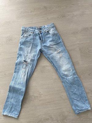 Zara Boyfriend Jeans multicolored