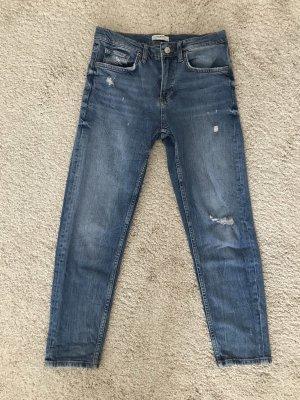Zara Boyfriend-Jeans Mom-Jeans Größe S