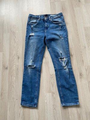 Zara Boyfriend jeans usedlook 36 Blau