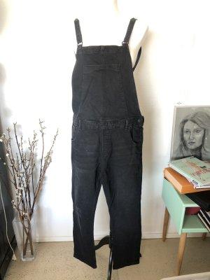 Zara Trafaluc Salopette en jeans noir
