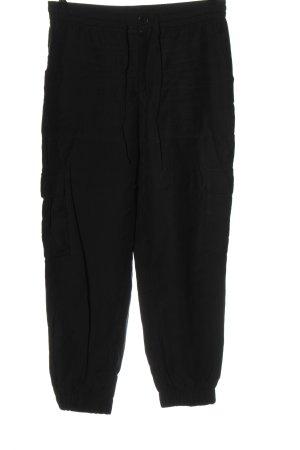 Zara Spodnie typu boyfriend czarny W stylu casual