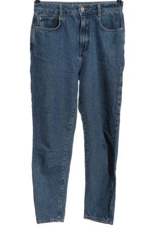 Zara Pantalone boyfriend blu stile casual