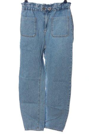 Zara Boyfriendjeans blau Casual-Look