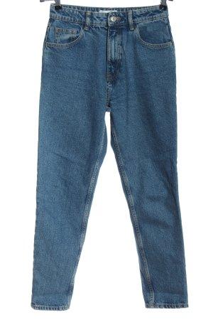 Zara Jeans boyfriend blu stile casual