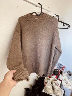 Zara Kaszmirowy sweter Wielokolorowy Kaszmir