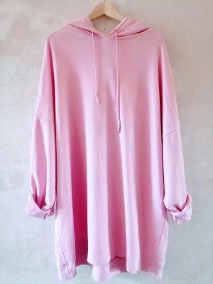 Zara Felpa con cappuccio rosa