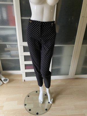 Zara Bundfalten Hose Gr 38 polka dots
