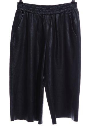 Zara Bundfaltenhose schwarz extravaganter Stil