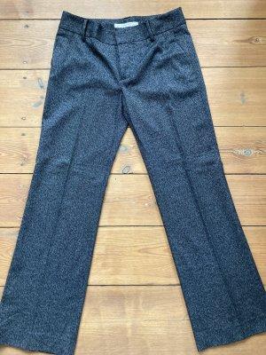 Zara Basic Pantalón de pinza gris antracita-gris oscuro