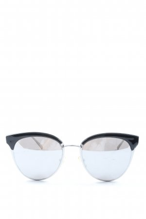 Zara Butterfly bril zwart-zilver casual uitstraling