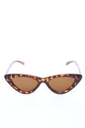 Zara Butterfly bril bruin-licht Oranje dierenprint elegant