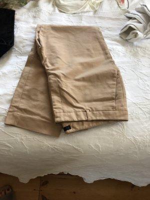Zara Pantalon cargo beige