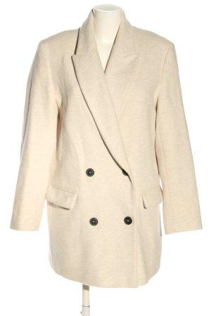 Zara Marynarska kurtka kremowy W stylu casual