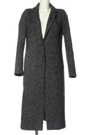 Zara Pilotenjas zwart-lichtgrijs gestippeld casual uitstraling