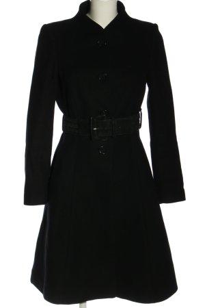 Zara Cabanmantel schwarz Casual-Look