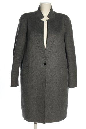 Zara Abrigo de piloto gris claro look casual