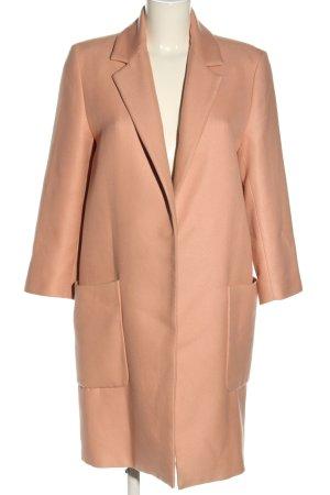 Zara Marynarski płaszcz nude W stylu casual