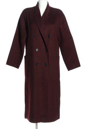 Zara Cappotto stile pilota rosso stile casual
