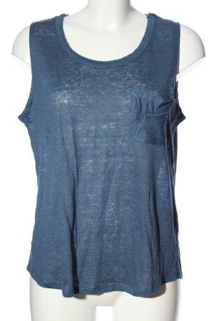 Zara Camisole blau Casual-Look