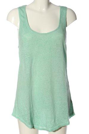 Zara Podkoszulek na ramiączkach kremowy Melanżowy W stylu casual