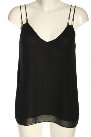 Zara Camisola negro look casual