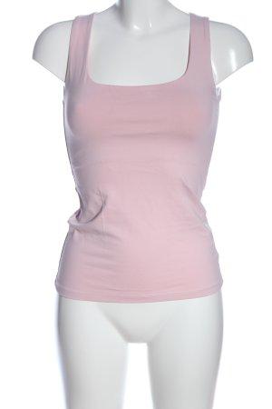 Zara Podkoszulek na ramiączkach różowy W stylu casual