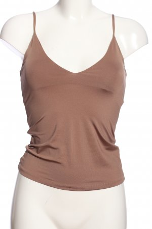 Zara Camisole bronzefarben Casual-Look