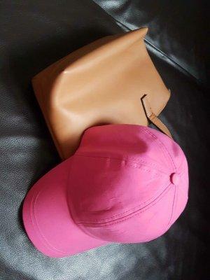 Zara Accesoires Gorra de béisbol rosa