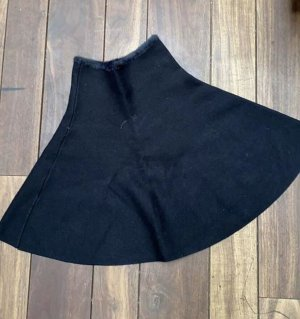 Zara Knit Cape noir